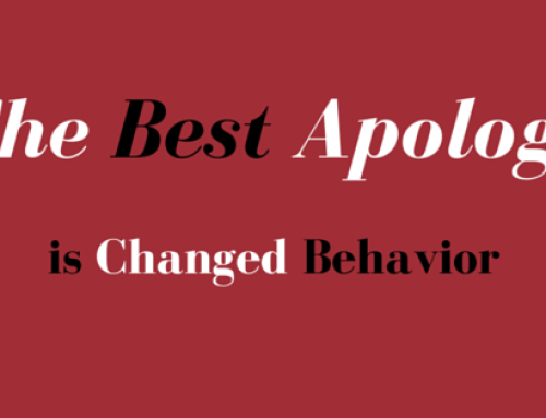 The #1 Secret to Apologizing